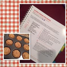 Fixate Banana Apple Muffins: Container Count 1P 1B. 21 Day Fix Approved muffins. Your personal health and fitness Beachbody Coach www.fb.com/caseybfitcoaching