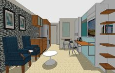 As the micro movement grows as a cost-effective and low maintenance style of living it's only a matter of time before the design trend hits seniors.
