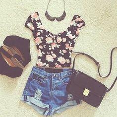Bien sous le soleil! #mode #été