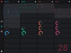 Svartling Network: Auxy - awesome free music making app for the iPad
