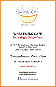 Wheat's end cafe