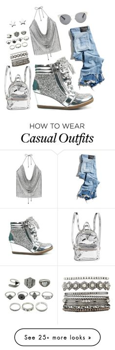 """""""Casual Glam"""" by jasmine-arminda on Polyvore featuring Forever Link, R13, Charlotte Russe and Christian Dior"""