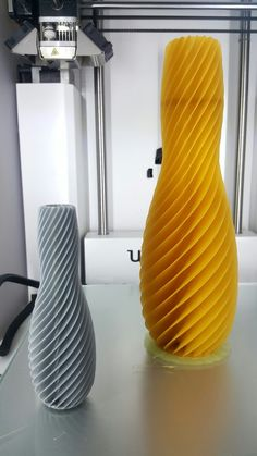 Spiral Vase. We are here To make anything you want #3DPrintingservice #3dp4me #3DPrinting