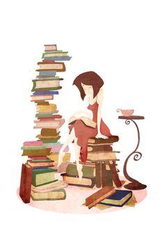 you can do it~! a book at a time...