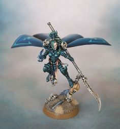 Golden Throne - Dark Eldar Archon