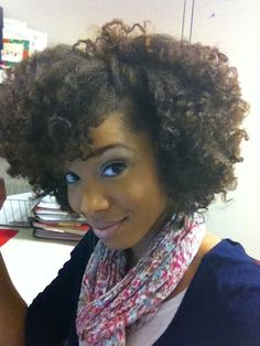 Portia // Natural Hair Style Icon | Black Girl with Long Hair