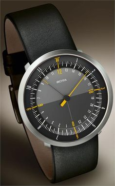 Botta Duo 24 Steel Edition Watch now available at Watchismo.com