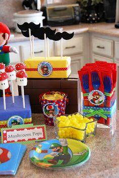 Cake Pops Galore: Super Mario Bros Birthday
