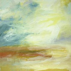 """Saatchi Art Artist Teresa Cline; Painting, """"Ocean Moods eighteen"""" #art"""