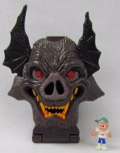 Mighty Max Horror Heads Vamp Biter 100% Complete Set Playset Bluebird Toys 1991 #BluebirdToys