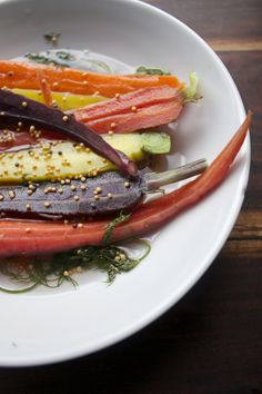 Quick Pickled Vegetables are a healthy side for any meal.