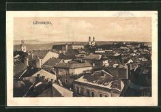 AK Uzhorod, Gesamtansicht 1929 Danzig, Poland, Paris Skyline, Movies, Movie Posters, Painting, Travel, Interwar Period, Auction