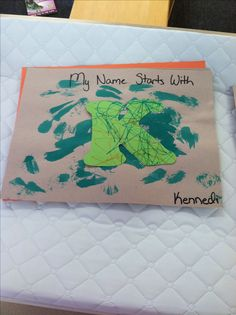 All About Me Week -kids paint watercolors and draw with markers on separate days, teachers combine the two.