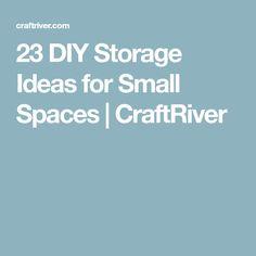 23 DIY Storage Ideas for Small Spaces   CraftRiver