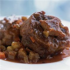 Roman-Style Braised Oxtails > Recipes | Williams-Sonoma Wine