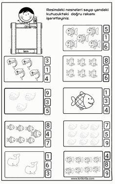 First Grade Math Unit 5 Subtraction Cardinality Kindergarten, Counting Worksheets For Kindergarten, Kindergarten Anchor Charts, Math Activities, Preschool Activities, Montessori Math, Math Literacy, Learn Arabic Alphabet, Cvc Words