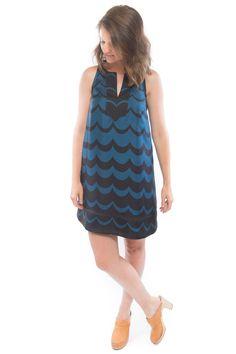 Colfax Dress Sewing Pattern by True Bias