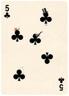 (Playing Cards Illustrations by Jonathan Burtonから)
