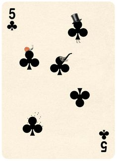 (Playing Cards Illustrations by Jonathan Burtonから)