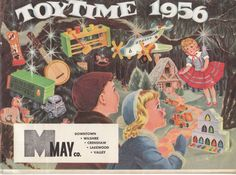 May Co of So Cali - Christmas toy ad from 1956