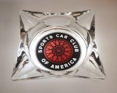 Vintage Sports Car Club of America Ash Tray Circa by DLDowns