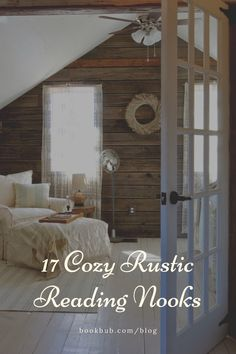 These cozy reading nooks are sure to inspire a rustic aesthetic in your home. Nook Ideas, Cabin Ideas, Reading Nook Kids, Library Inspiration, Ord, Cozy Nook, Book Nooks, Great Books, My Room