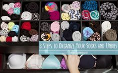 3 Steps to Organize Your Socks and Undies via Clean Mama