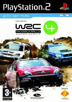 Resultado de imagem para wrc 4 ps2 Giant Bomb, Championship Game, Playstation 2, Rally, Evolution, Games, World, Ps, Retro Games