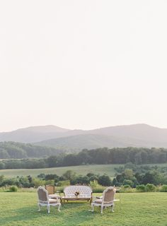 Seating with a view at Pippin Hill Farm & Vineyards in Charlottesville, Va Monticello Wine Trail, Laura Gordon, Virginia Wineries, Charlottesville Va, Blue Ridge Mountains, Outdoor Furniture Sets, Outdoor Decor, Summer Weddings, Take A Seat