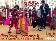 Matinal infantil con talleres para niños el próximo sábado en Valencia