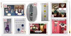 Artesanato com garrafa pet http://amocarte.blogspot.com.br/