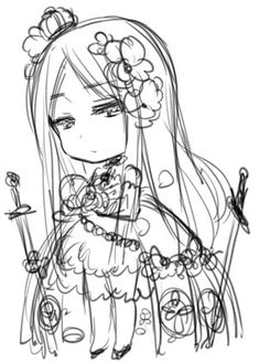 This picture of Belarus is really pretty! \(•--0--•)/ I really like how they drew her dress with the little crown on her head.