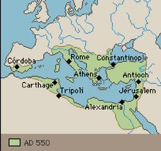 Two related major civilizations formed in Europe. The Byzantine Empire, in western Asia and southeastern Europe, expanded into eastern Europe.