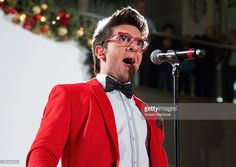 <a gi-track='captionPersonalityLinkClicked' href=/galleries/search?phrase=Piero+Barone&family=editorial&specificpeople=5945024 ng-click='$event.stopPropagation()'>Piero Barone</a> of Il Volo performs during the HGTV Holiday House Kick-Off at Santa Monica Place with performance by Il Volo at Santa Monica Place on November 23, 2013 in Santa Monica, California.
