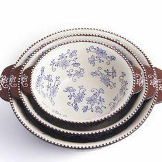 temp-tations® Set of 3 Floral Lace Nesting Bowls :: temp-tations® by Tara