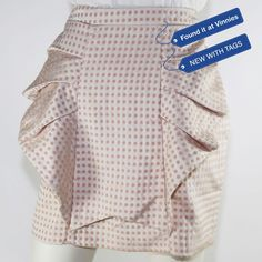 3cb0a0f27 Cameo Mini Skirt Sz 12 Frill Polkadot Spot Party Cocktail White Pink $100  NEW #fashion #clothing #shoes #accessories #womensclothing #skirts (ebay  link)