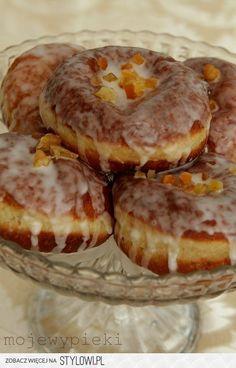 Doughnuts (Rezept I) Donut Recipes, Dessert Recipes, Cooking Recipes, Desserts, How To Cook Pancakes, Polish Recipes, Polish Food, Russian Recipes, Cakes And More