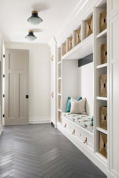 DECORATE MY HOME From StoneGable · Mudroom Inspiration And Ideas Laundry  Nook, Laundry Room Remodel, Basement Laundry, Basement Flooring