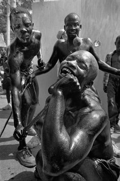 Cristina Garcia Rodero HAITI. Carnival of Jacmel. Via Magnum Photos