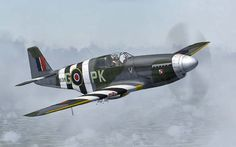 P-51B Mustang Royal Air Force Pre and D-Day time slot 1944