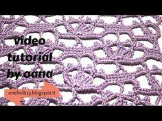 Crochet flowers stitch pattern - YouTube