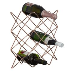 Buy John Lewis & Partners Scandi Copper Wine Rack, 9 Bottle from our Wine Racks range at John Lewis & Partners. Copper Wine Rack, Copper Accessories, Tactile Texture, Buy Wine Online, Dinner Room, Watercolor Sky, My Shopping List, Things To Buy, Stuff To Buy