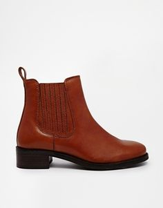 Image 1 of ASOS ATONEMENT Leather Chelsea Ankle Boots