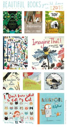 Books you'll love in 2017...children's picture books to be published next year (loveprintstudioblog)