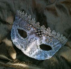 Lady Venetian Princess Venetian Mask by MaskedEnchantment