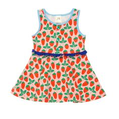 Wildflowers Strawberry Shortcake Top