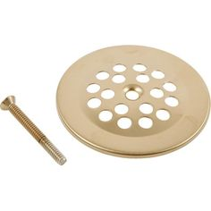 Delta Replacement Dome Grid Shower Drain Finish: Brilliance Champagne Bronze