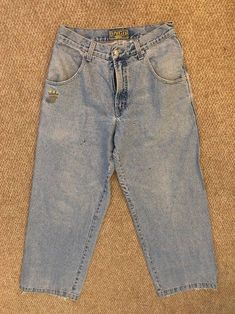 408118c97c4 Vintage 90s JNCO JEANS 179 SMOKE STACKS Size 32 Skater Baggy GRUNGE  Authentic  JNCO