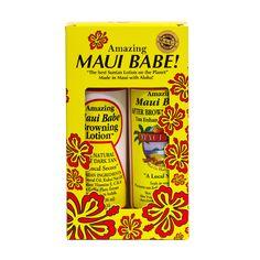 maui babe browning lotion & after browning tan enchancer