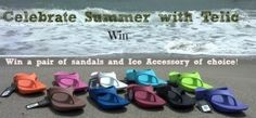 #Win one of three Telic sandals and Ice accessory of choice! #Summer #Shoes #Giveaway #ad